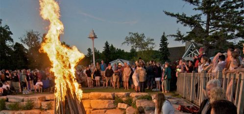 bonfire by the lake event